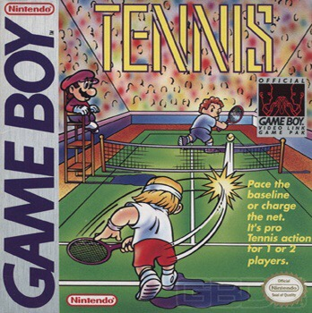 My Life With… Tennis – Nintendo Gameboy