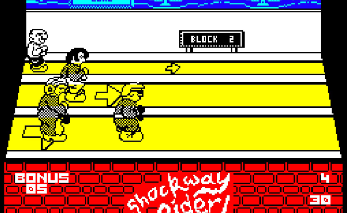 My Life With… Shockway Rider – ZX Spectrum