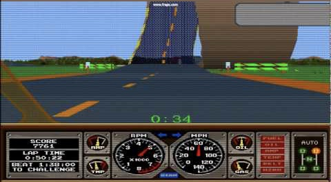 My Life With… Hard Drivin' – Atari ST