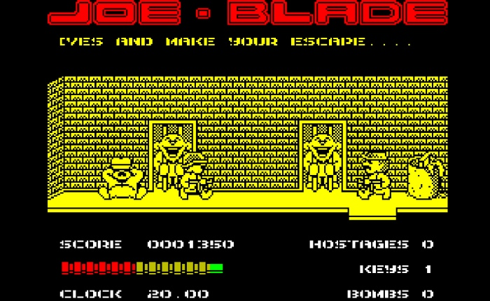 My Life With… Joe Blade – ZX Spectrum