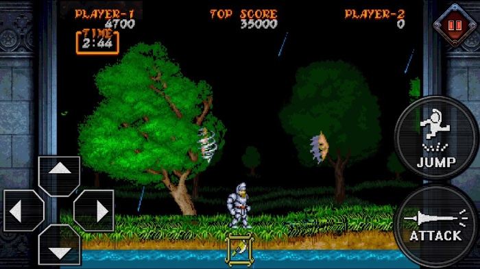 Bonus Post – Ghouls 'n Ghosts on iOS: Arcade Perfection Behind Massive Controls!