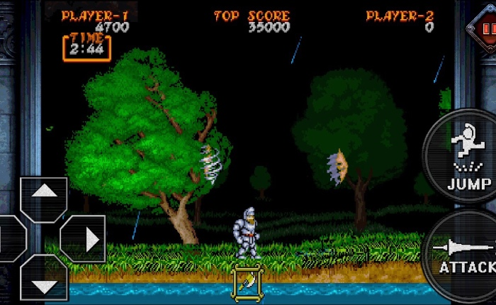 Ghouls 'n Ghosts on iOS Review: Arcade Perfection Behind Massive Controls!