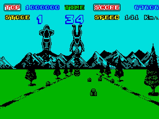 My Life With… Enduro Racer – ZX Spectrum