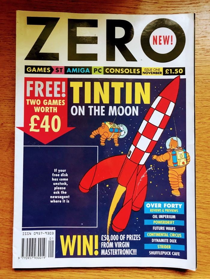 Bonus Post – Remember ZERO Magazine?
