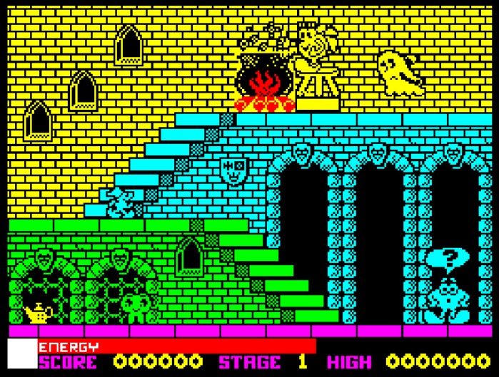 My Life With… Olli and Lissa: The Ghost of Shilmoore Castle – ZX Spectrum