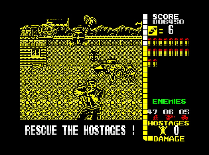 My Life With… Operation Wolf (ZX Spectrum / Atari ST)