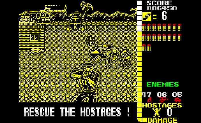 My Life With… Operation Wolf (ZX Spectrum / AtariST)