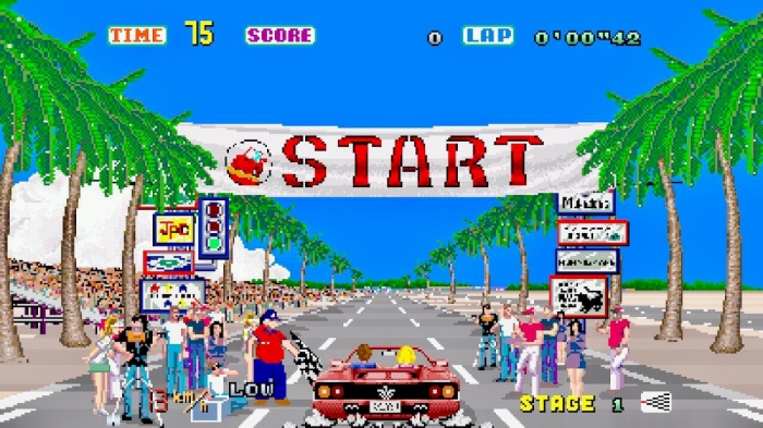 My Life With… Out Run (Arcade / ZX Spectrum / Switch)