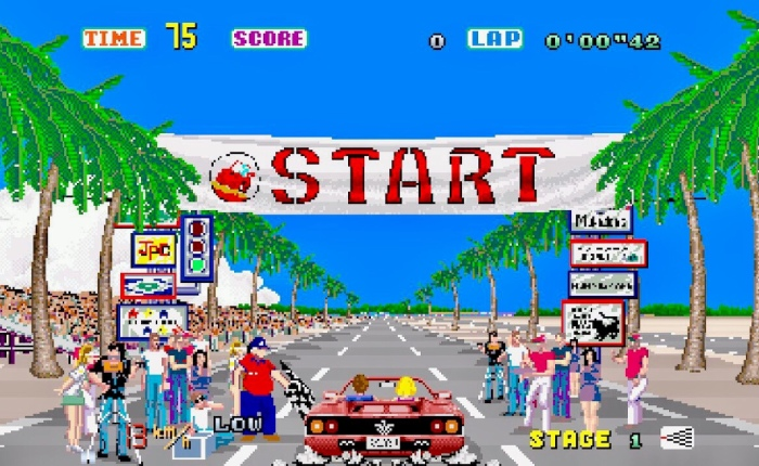 My Life With… Out Run – Arcade / ZX Spectrum /Switch