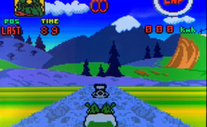 Rediscovering Wacky Races on Game BoyColour