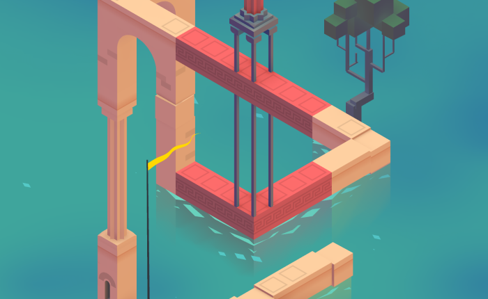 Discovering Monument Valley 2 on iOS