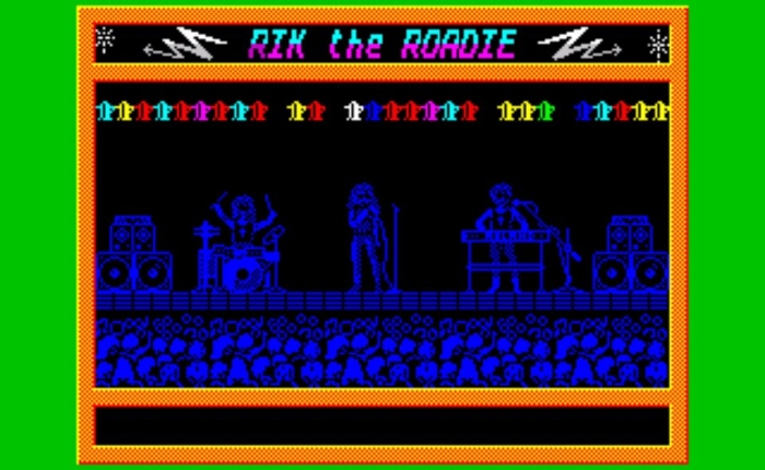 Discovering Rik the Roadie – ZX Spectrum