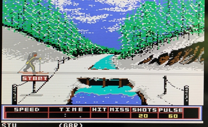 My Life With… Winter Games – Commodore 64