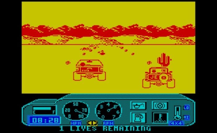 Discovering 4×4 Offroad Racing on ZX Spectrum