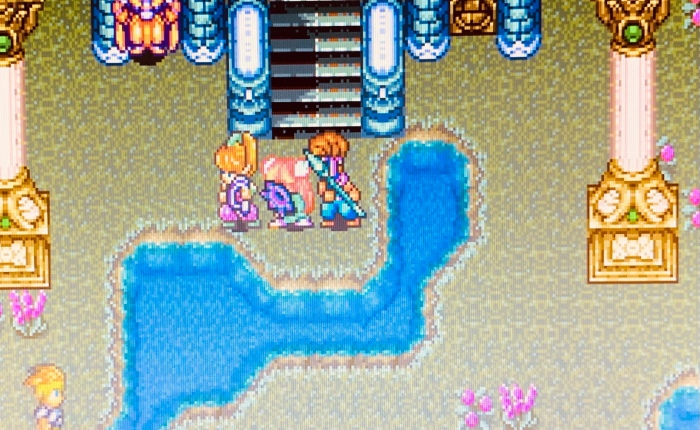Discovering Secret of Mana on SNES