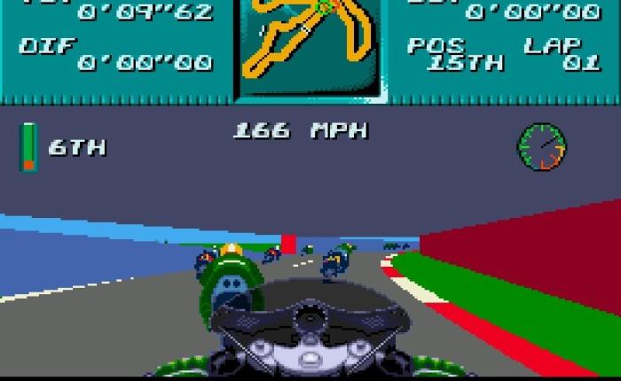 Discovering Kawasaki Superbikes on Sega MegaDrive
