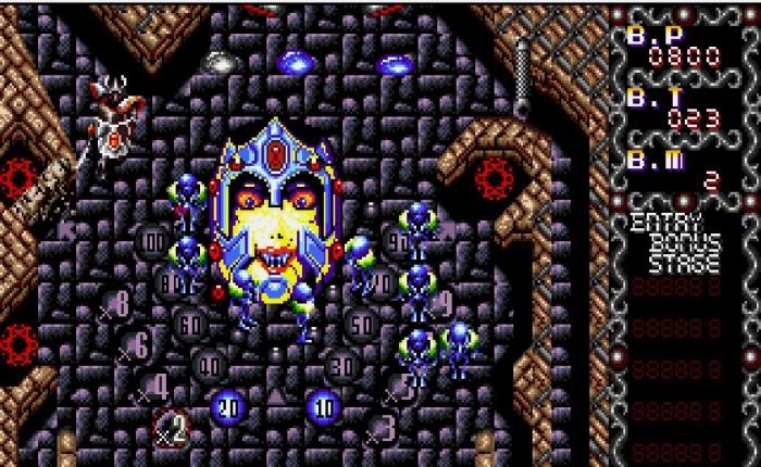 Discovering Devil Crash MD on Sega MegaDrive
