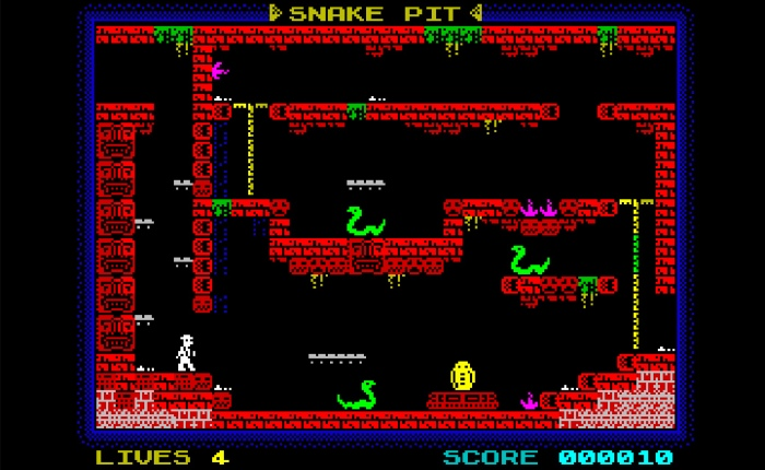 Game Review: Indiana Jones and the Fountain of Everlasting Life – ZX Spectrum