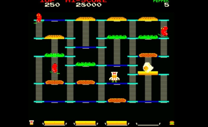 Discovering BurgerTime on My Arcade, NES, Arcade andMore!