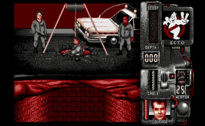 Discovering Ghostbusters II on AtariST